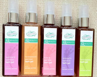 All Natural Plant Based Body Wash in Refereshing Fragrances 100 ml