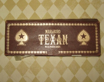 Vintage Poker Cards Set