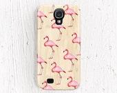 Flamingo Galaxy s4 case Flamingo samsung galaxy case Animal galaxy s2 case wood Galaxy s3 case wood Galaxy 4 case PLASTIC CASE etsy /c194