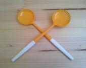 Egg Yolk... salad servers