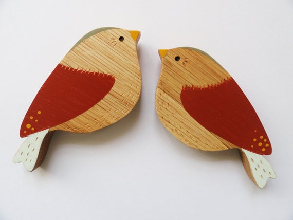 Valentine wall birds - love bird pairs
