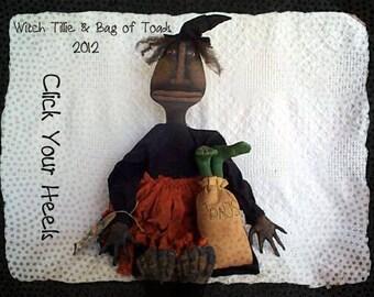E Pattern Witch Tillie Click Your Heels Primitive