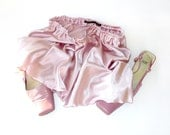 Powder blush satin french knickers, a pretty sexy plus size S-XXL panty, panties, lingerie, undies, beach wear, spring summer fashion trend