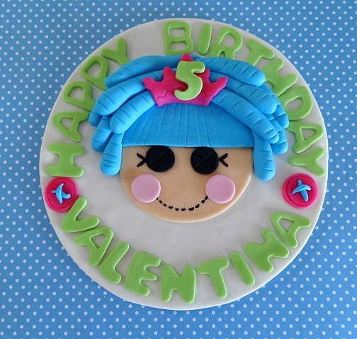Lalaloopsy Cake Toppers Australia