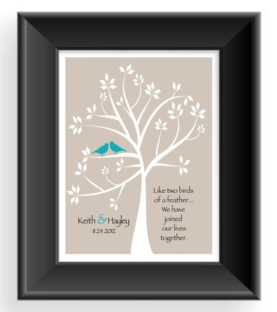 First Wedding Anniversary Gift Ideas For Couple : First Anniversary Gift- Gift for Husband- Custom Couple Gift -Wedding ...