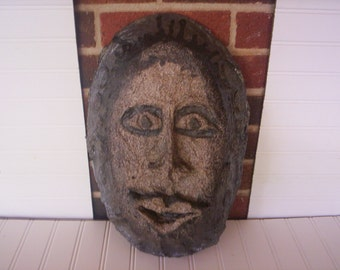 Paper mache mask/African mask/Unfinished mask/ unfinished paper mache/Fall decor/Autume decor/Fall project/Autume project/Craft project