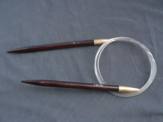 Knitting Needle Size Us To Mm : Circular wooden knitting needles size mm by ukrainianwoods