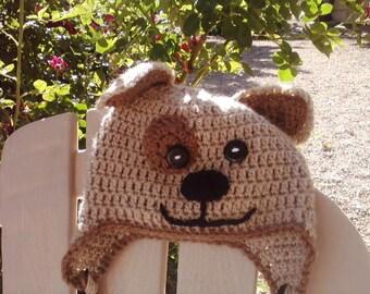 Puppy Hat - Crocheted
