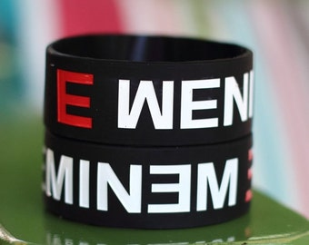 ON SALE TODAY - Eminem Fans Brand New One Inch Wristband