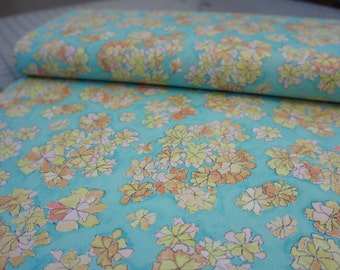 Tiny Cosmos in Peach from Cosmos Collection by Laura Gunn for Michael Miller -  Yard