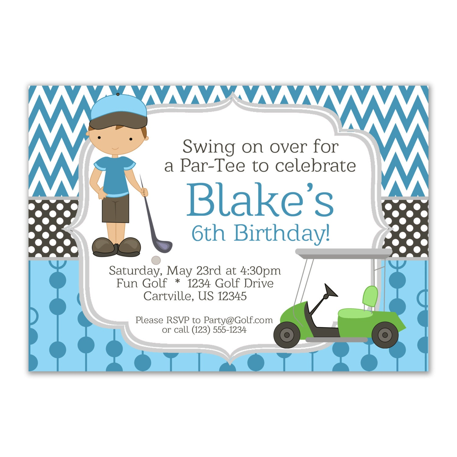 Golf Party Invitations is best invitation template