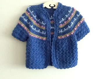 Item 73 Little girls sweater size 4-5