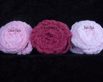 Photography Props Set of Three .Newborn photo props.. Cheesecloth wraps