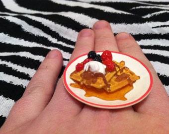 Waffles for Breakfast Ring