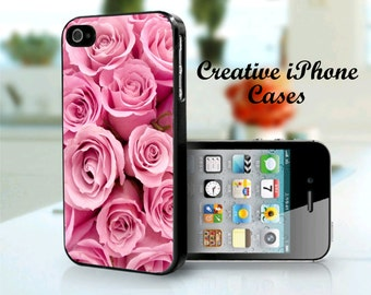 iPhone 5/5S Pink Roses Case for iPhone 4/4S, iPhone 5/5S or the iPhone 5C