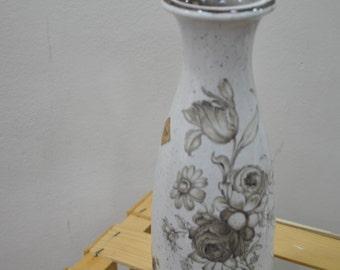 Vintage Ceramic Flower Vase made in W . Germany ....