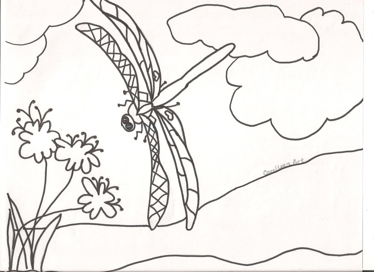 blackline master coloring pages - photo#7