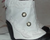 Lovely pair of Steampunk inspired spats. Style no. 10