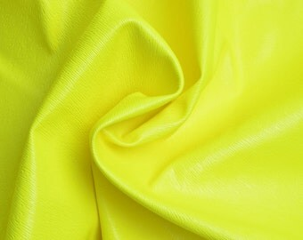 One Yard Neon Color Leather Fabric,Faux Leather Fabric,Upholstery Leather,Mouse fur Pattern,Bags Making,Pleather,Pu