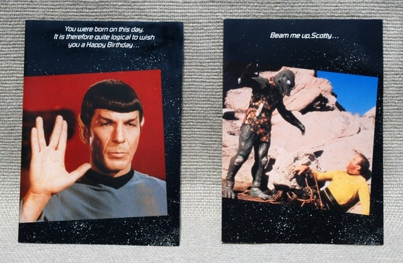 Star Trek Birthday Card – gangcraft.net