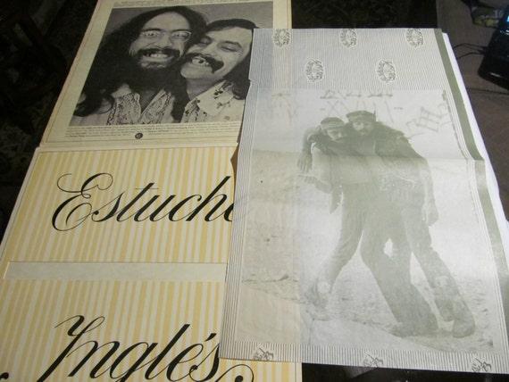 2 Rolling Paper The Big Bambu Cheech Chong Record Album