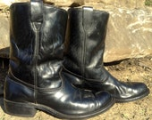25% OFF // Size 12 Black Texas Ropers Peco Style Made in USA