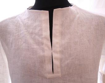 Linen Shirt for Men - organic and vegan