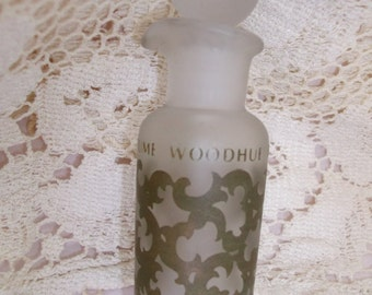 Faberge Woodhue Perfume Bottle Stoppered