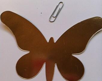 Gold Butterfly Die Cut