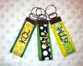 Initial or name key fob