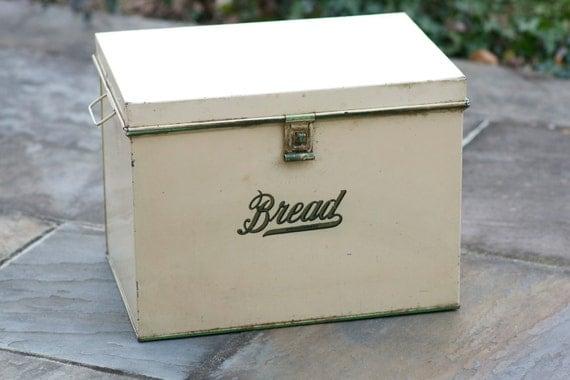 Kreamerware Tin Bread Box