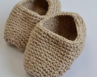 Baby Bee Shoe Knitting Pattern