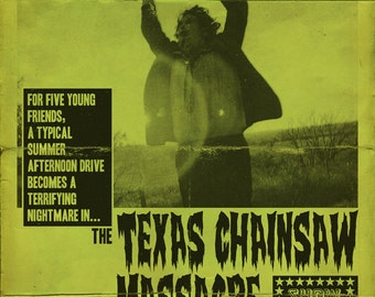 "The Texas Chainsaw Massacre 11x17"" Movie Poster"