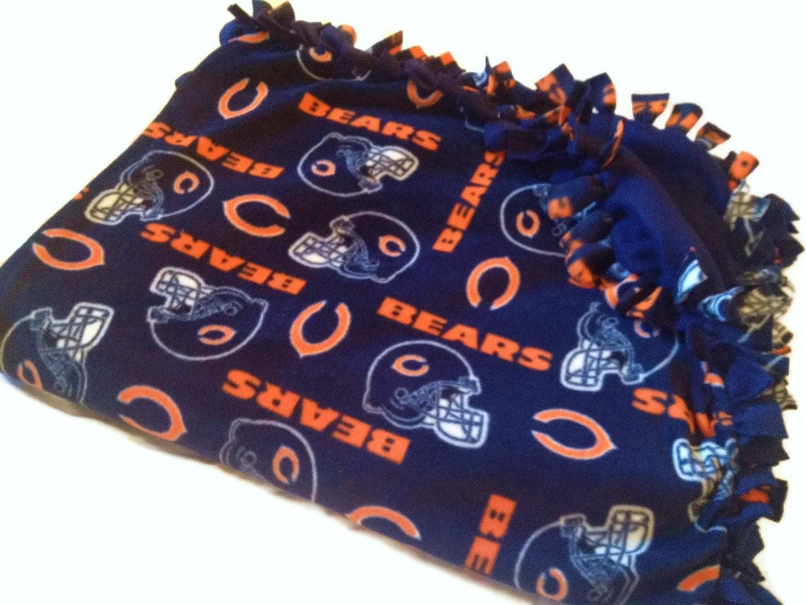 Chicago Bears Blanket Nfl Football Fleece No By
