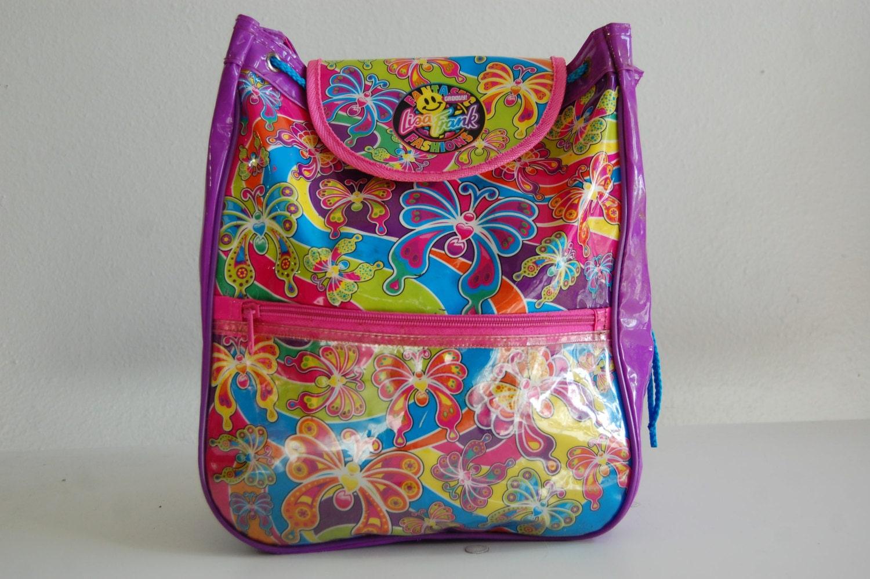 Flash Sale 90s Lisa Frank Rainbow Butterfly Clear Plastic