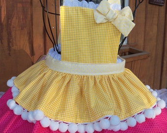 Sugar Cookie inspired Kids Apron