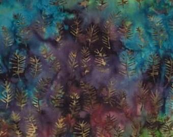 Enchanted Pond, Dusk Brown, Batik 4611 28 by Holly Taylor for Moda