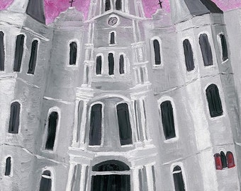 St. Louis Cathedral, Jackson Square Painting