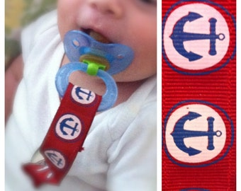 Lead-Free Anchor Pacifier Clip