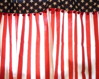 Flag curtains | Etsy