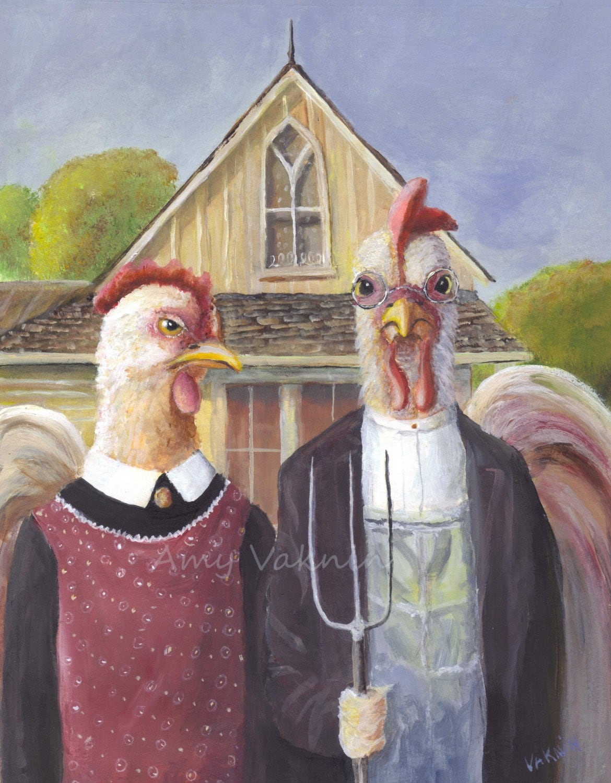 Famous Hen Paintings