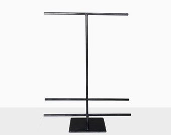 Hybrid Tall Steel T-Stand - Jewelry Holder - Metal Necklace and Bracelet Display