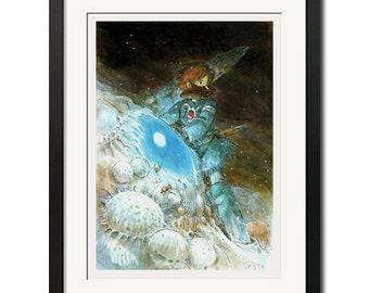 Hayao Miyazaki Nausicaa of the Valley of the Wind Poster Print 0438