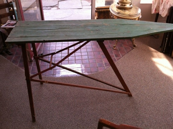 1940's Plymouth BEH & Co Inc NY Wooden Ironing Board