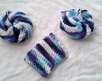 Washable Crochet Dish Scrubbers/Sponges
