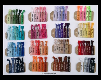GRADUATION GIFT Over 40% Off - 30 pc You Pick Elastic Hair Ties, Hair Bands - No Crease, Assorted Colors, Sale, College Dorm