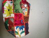 Boho Hippie Tribal Bag - Hand Embroidered - Patchwork - Banjara - Shoulder Bag -
