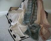 Vintage Silk ScarvesThree Ann Klein Oscar de la Renta Hatton