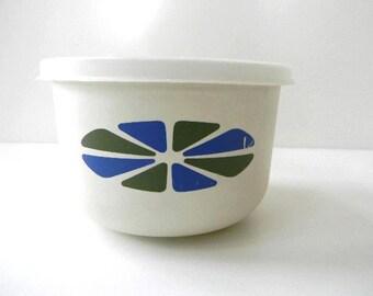 vintage mid century danish bowl with lid