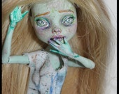 OOAK Monster high Minowette doll by mew